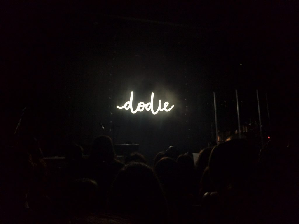 Dodie Human Tour stage
