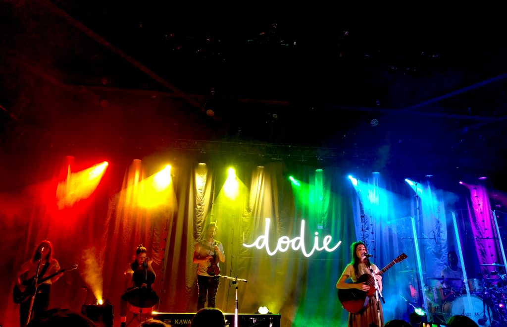 Dodie playing human tour in dublin