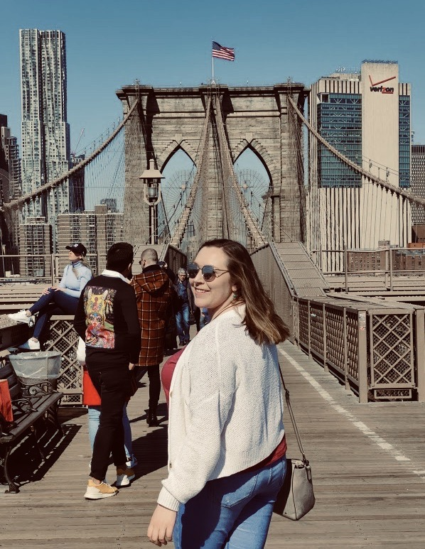 Adventuring New York City on Brooklyn Bridge